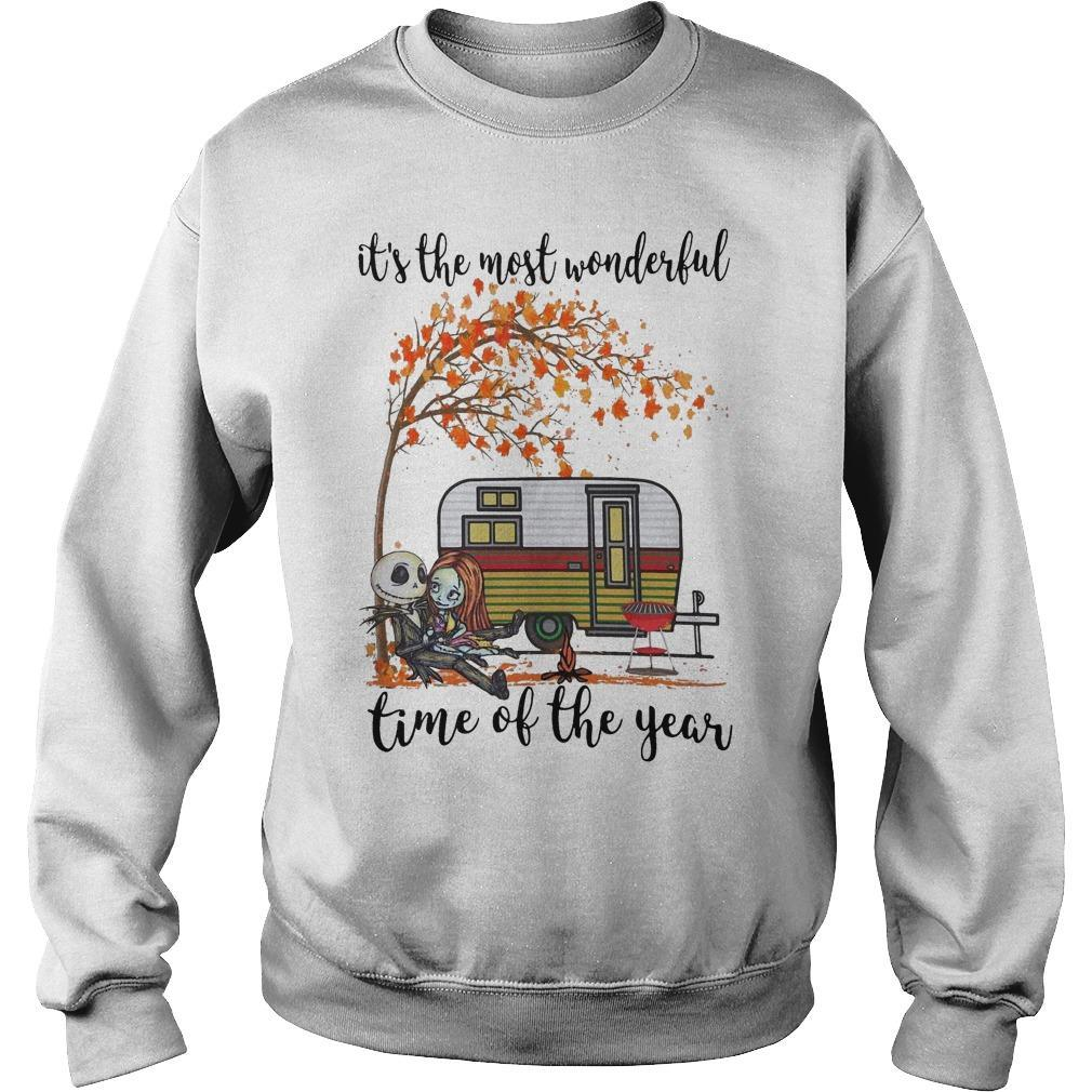 Jack Skellington And Sally It's The Most Wonderful Time Of The Year Sweater