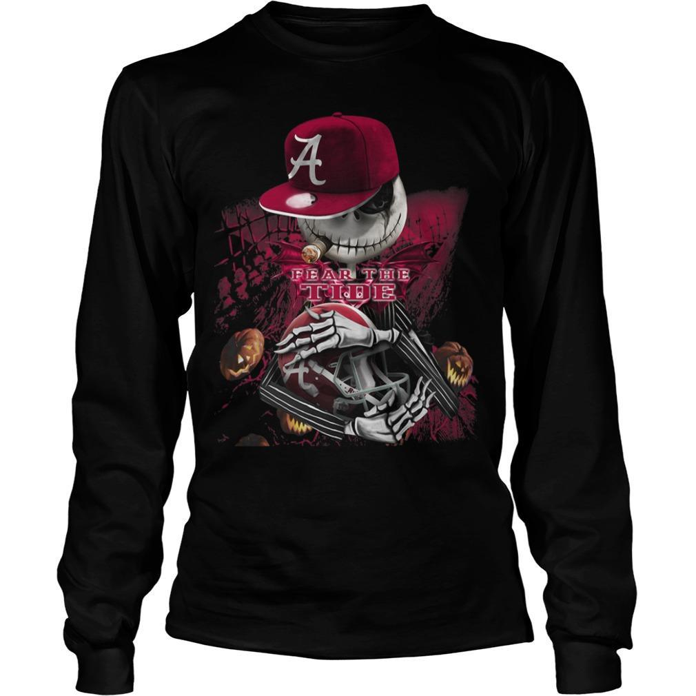 Jack Skellington Fear The Tide Longsleeve