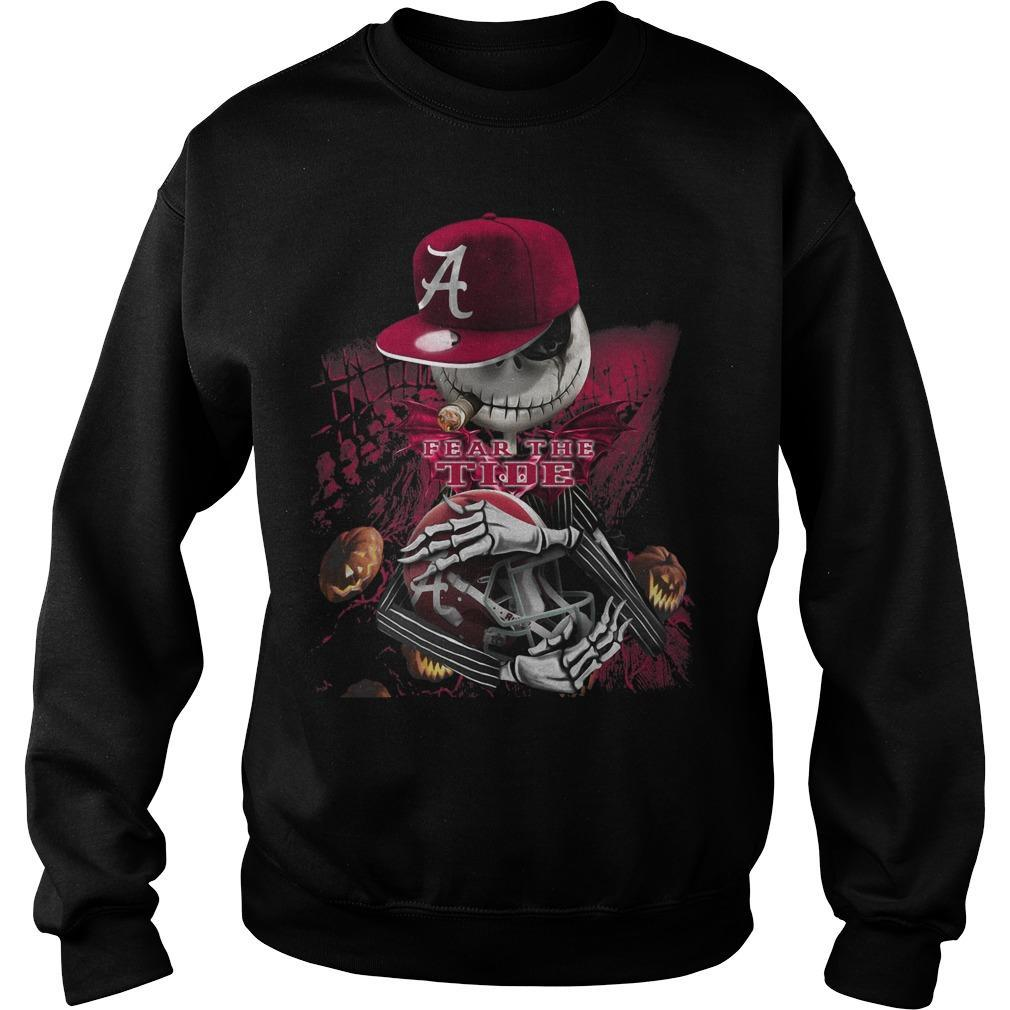 Jack Skellington Fear The Tide Sweater