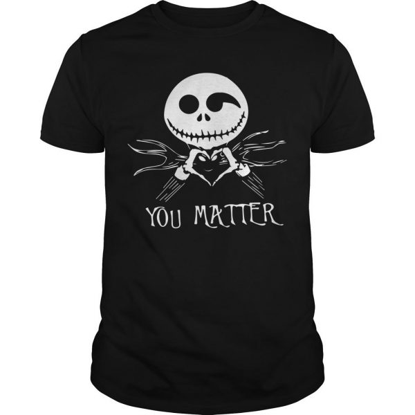 Jack Skellington Love You Matter Shirt