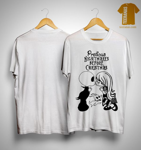 Jack Skellington and Sally Precious Nightmares Before Christmas Shirt