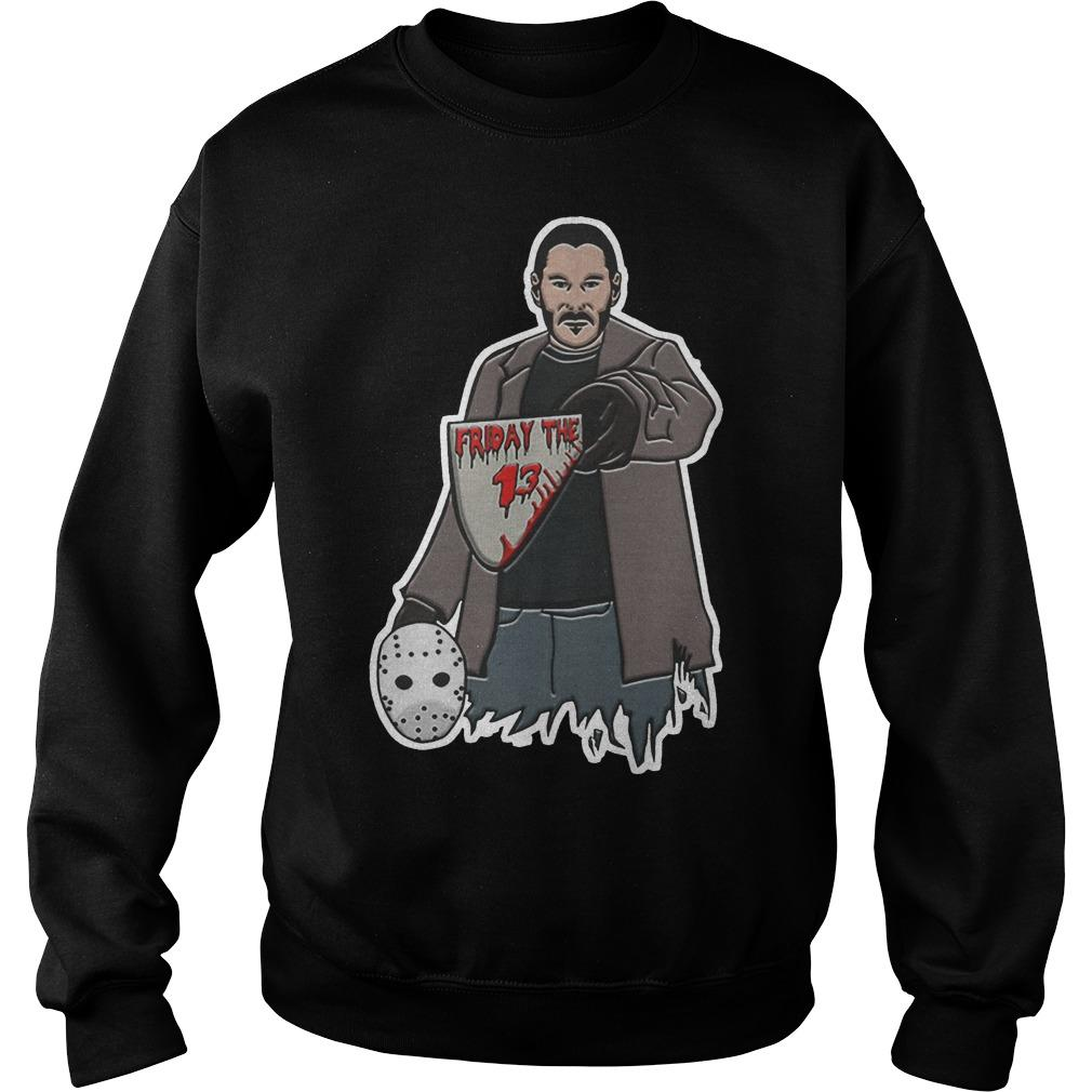 John Wick Jason Voorhees Friday The 13 Sweater