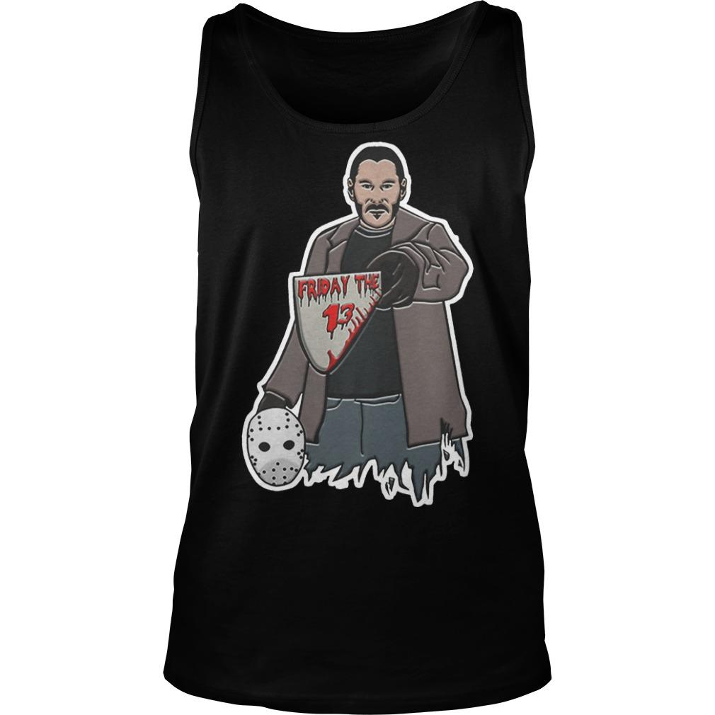 John Wick Jason Voorhees Friday The 13 Tank Top