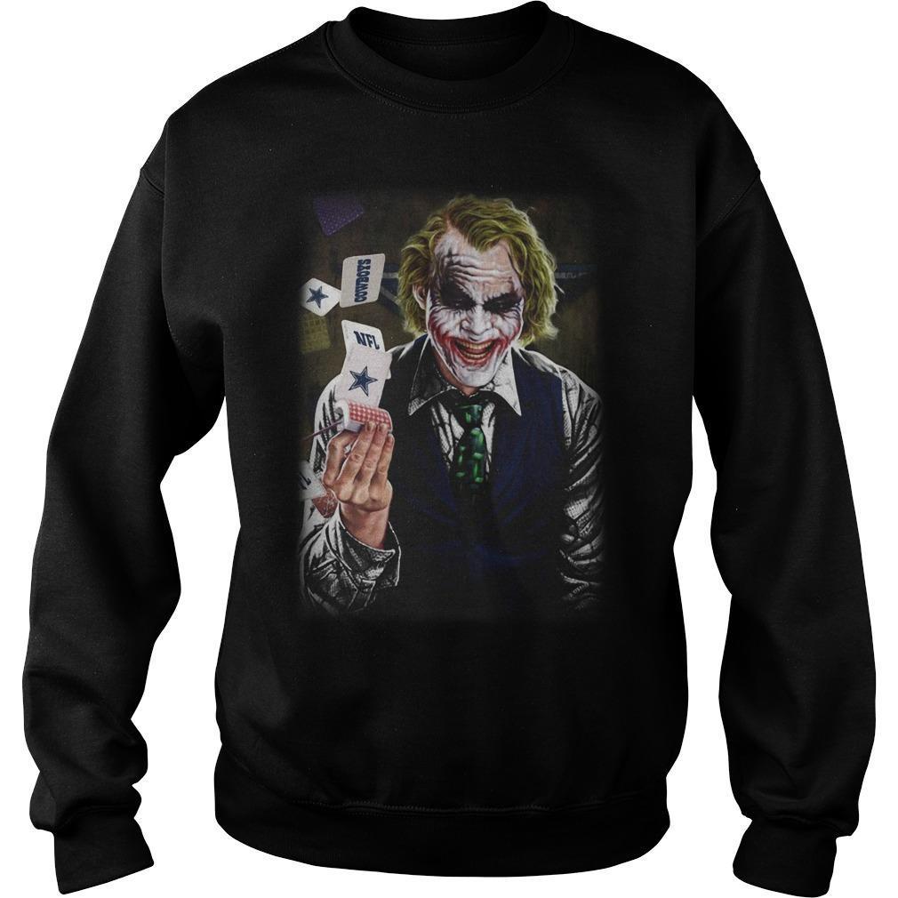 Joker Poker Dallas Cowboys Sweater