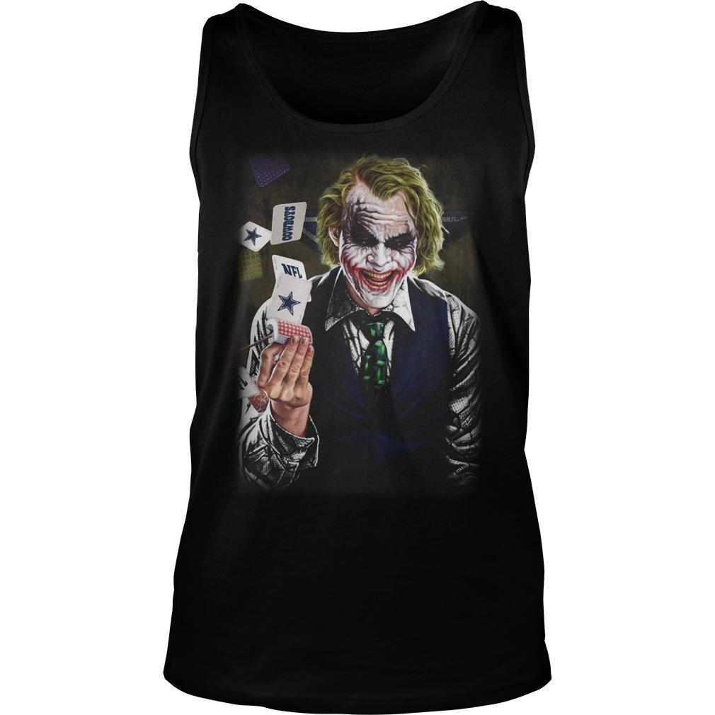 Joker Poker Dallas Cowboys Tank Top