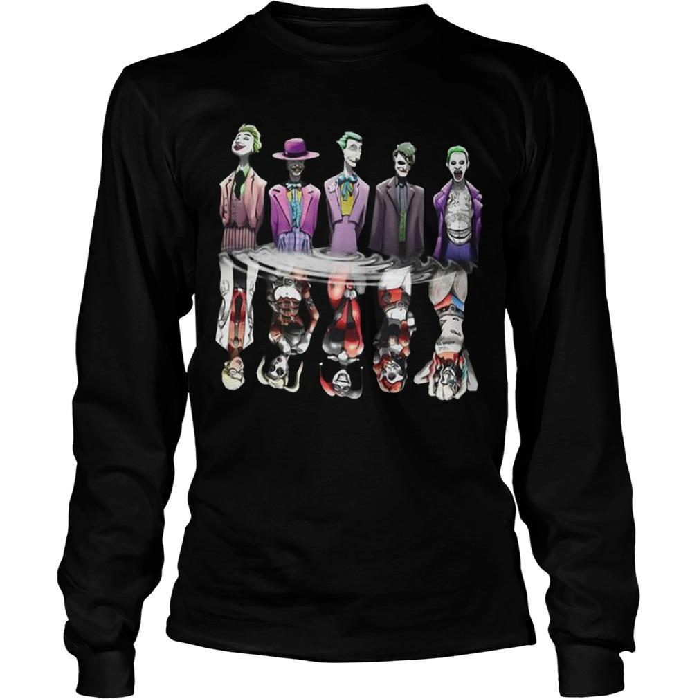 Joker Reflection Mirror Water Harley Quinn Longsleeve