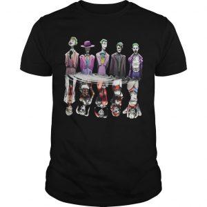 Joker Reflection Mirror Water Harley Quinn Shirt