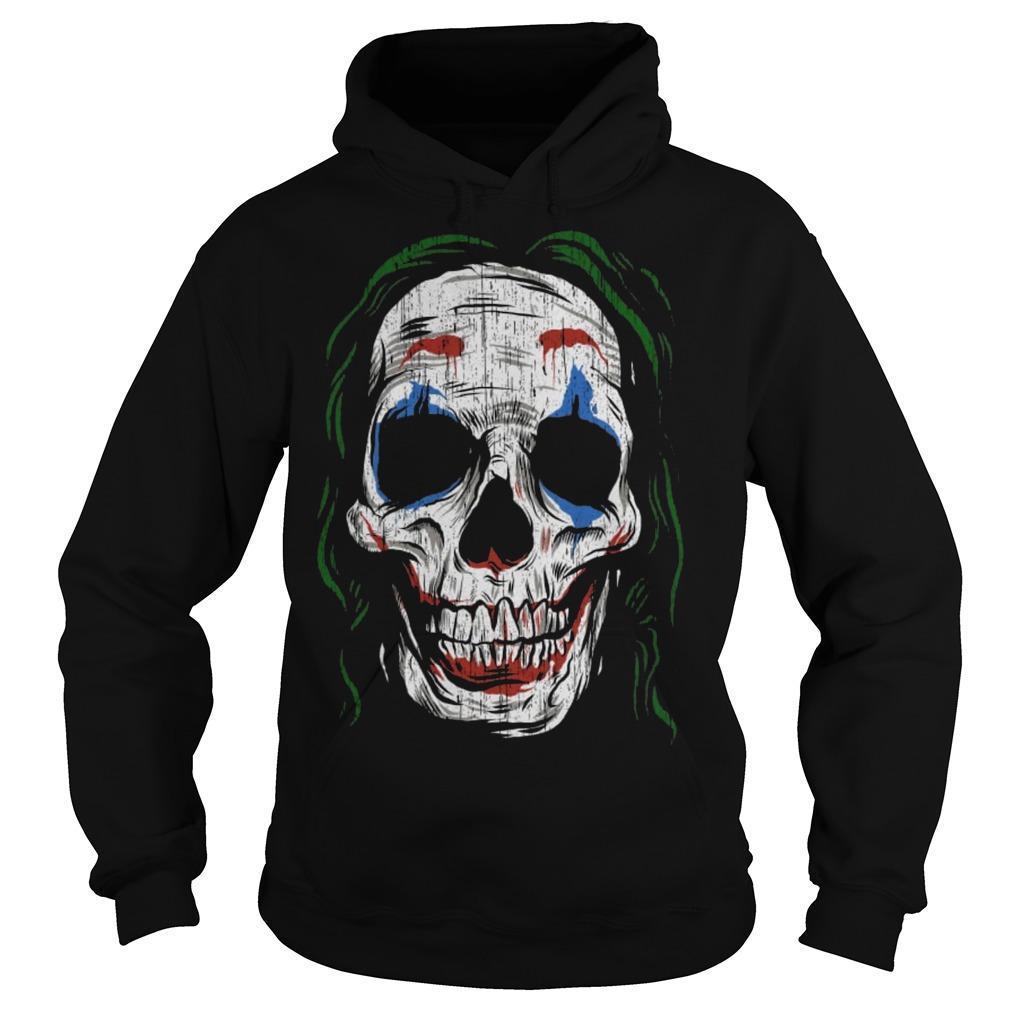 Joker Smiling Skull Hoodie
