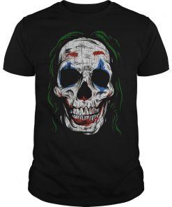 Joker Smiling Skull Shirt