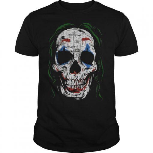 Joker Smiling Skull Shirt