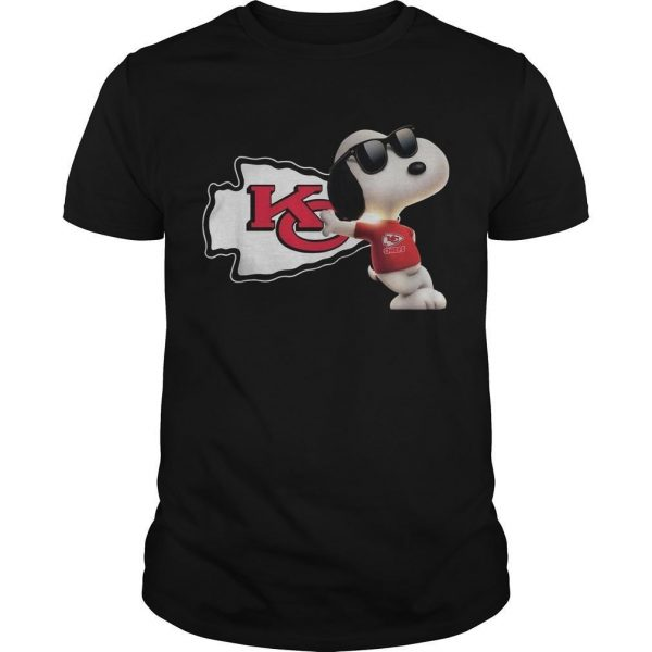 Kansas City Chiefs Snoopy Shirt