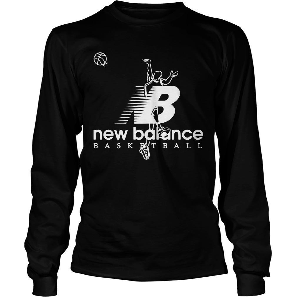 Kawhi Leonard Shot New Balance Basketball Longsleeve