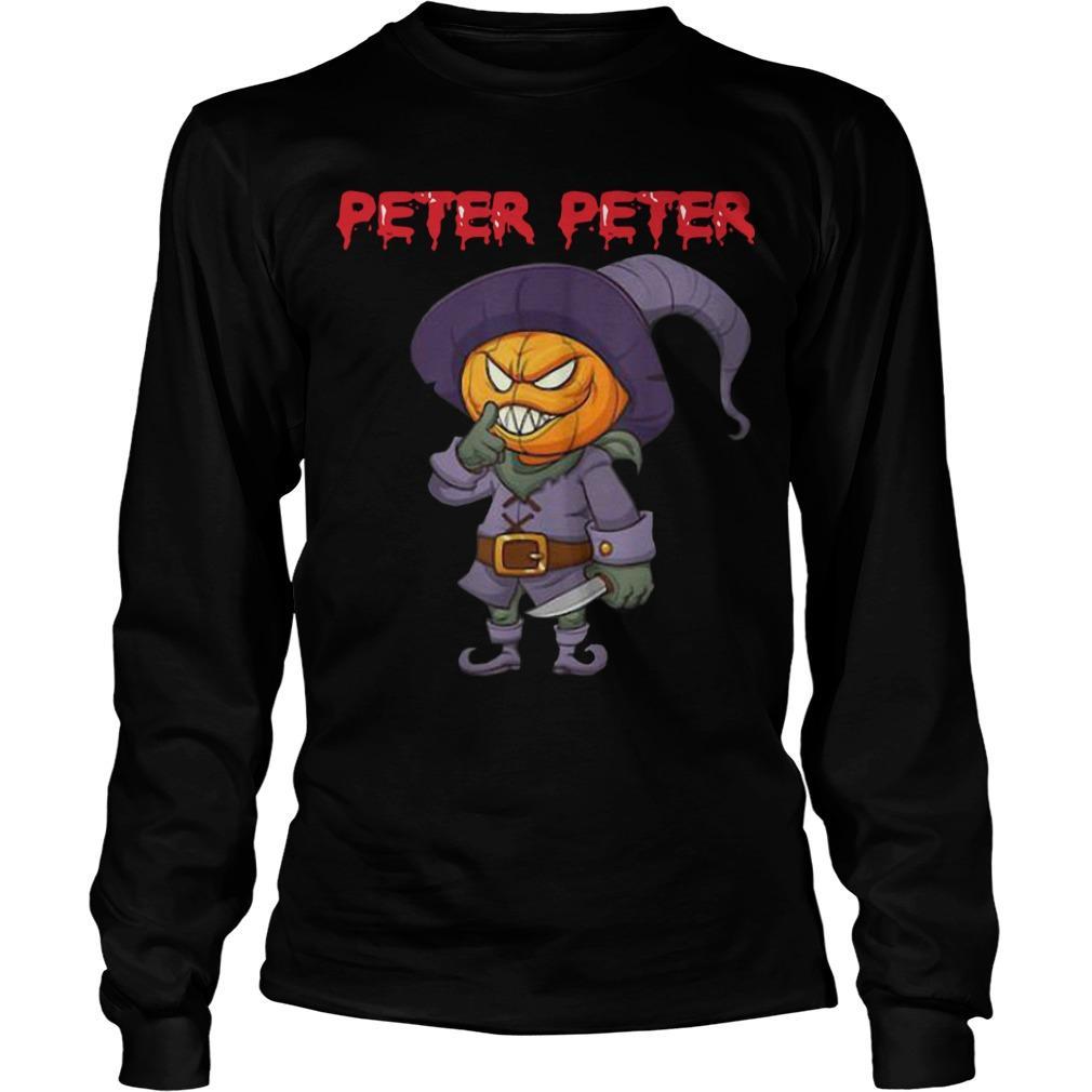 Killer Pumpkin Head Costume Peter Peter Longsleeve