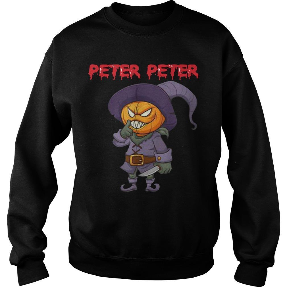 Killer Pumpkin Head Costume Peter Peter Sweater