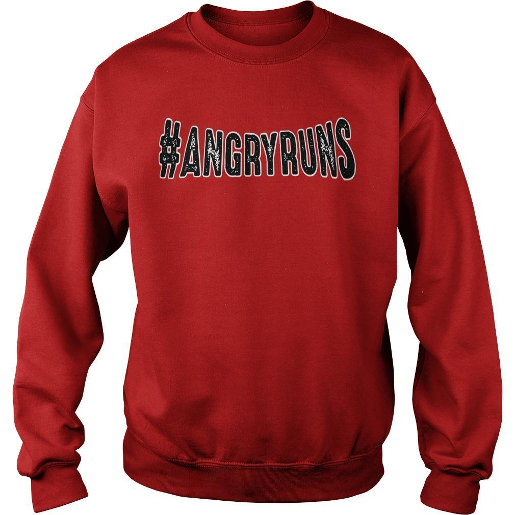 Kyle Brandt #angryruns Sweater