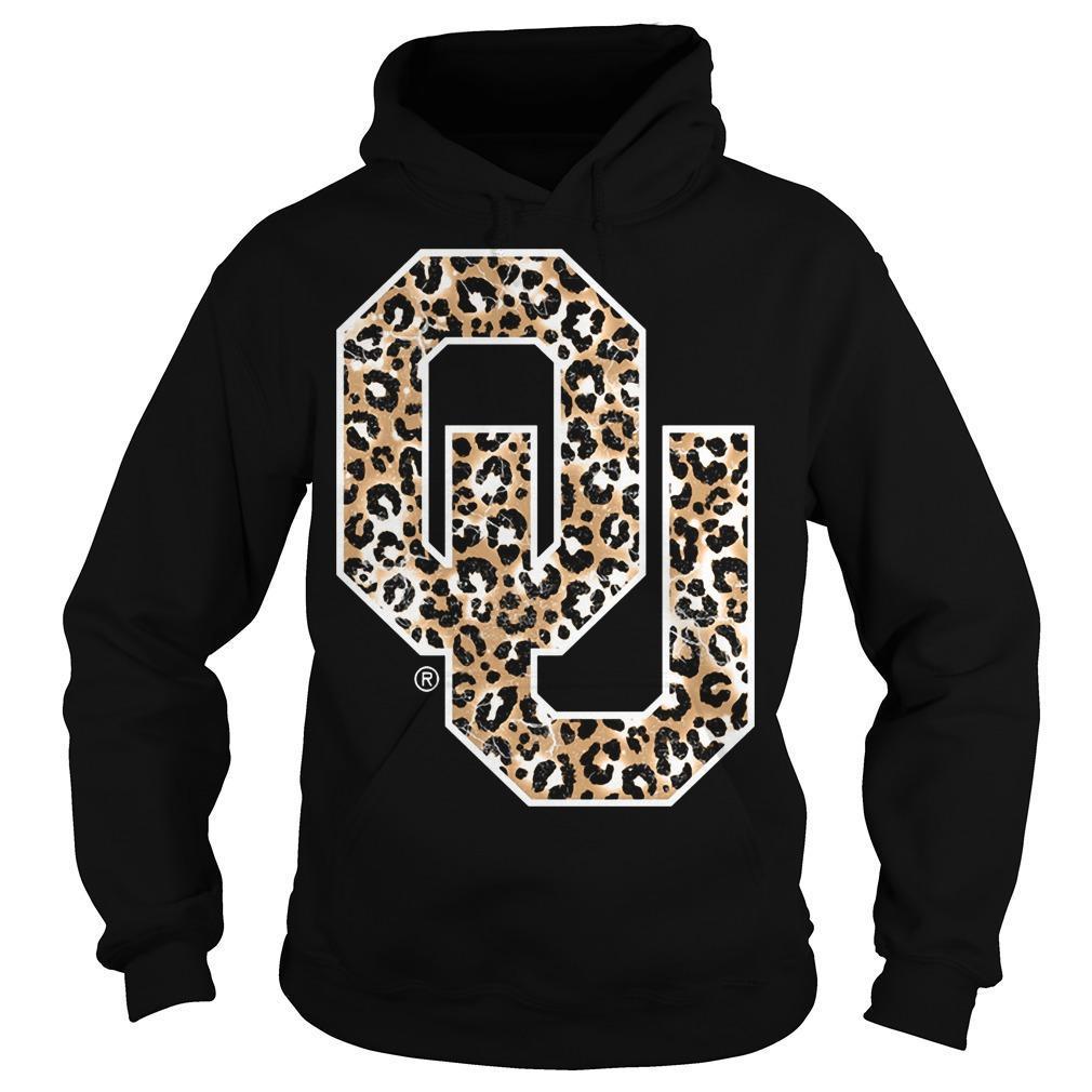 Leopard Print Oklahoma Sooners Hoodie