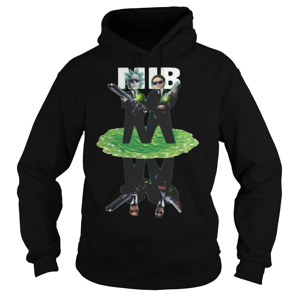 MIB Reflection Rick And Morty T Hoodie