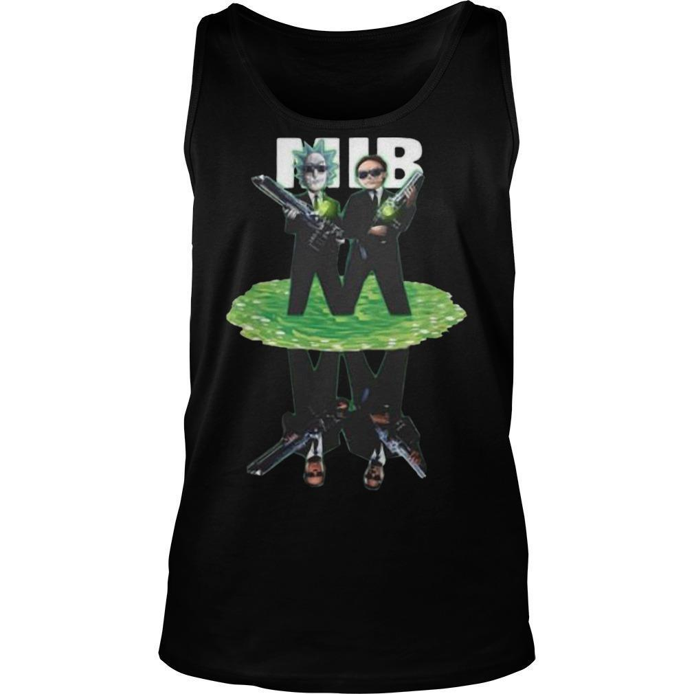 MIB Reflection Rick And Morty T Tank Top