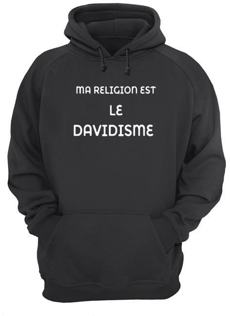 Ma Religion Est Le Davidisme Hoodie