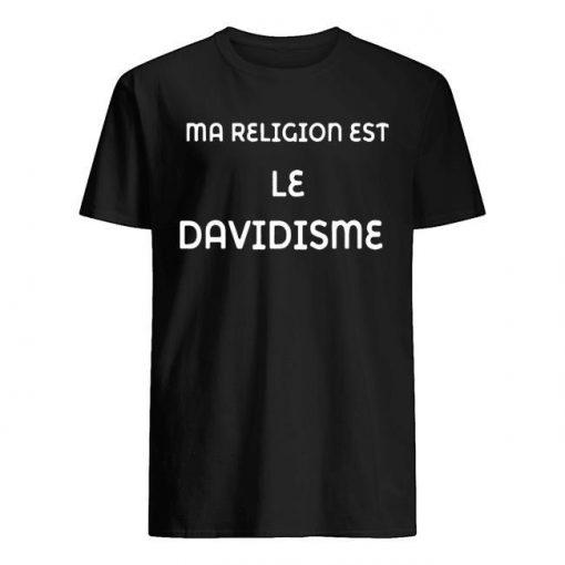 Ma Religion Est Le Davidisme Shirt