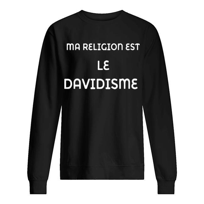 Ma Religion Est Le Davidisme Sweater