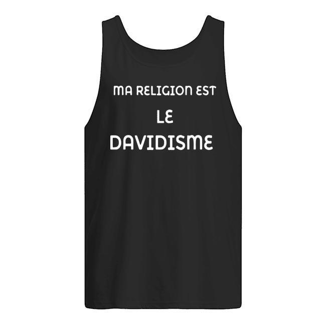 Ma Religion Est Le Davidisme Tank Top
