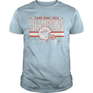 Miami Football Tank Bowl 2019 Champions Shirt