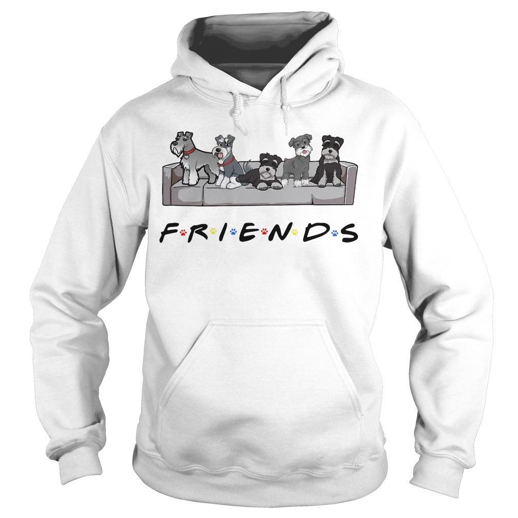 Miniature Schnauzer Tv Show Friends Hoodie