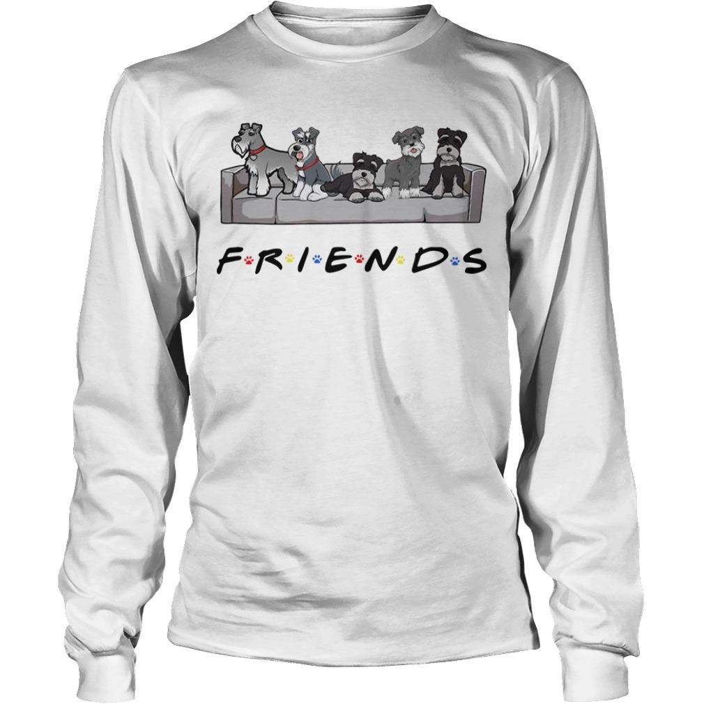 Miniature Schnauzer Tv Show Friends Longsleeve
