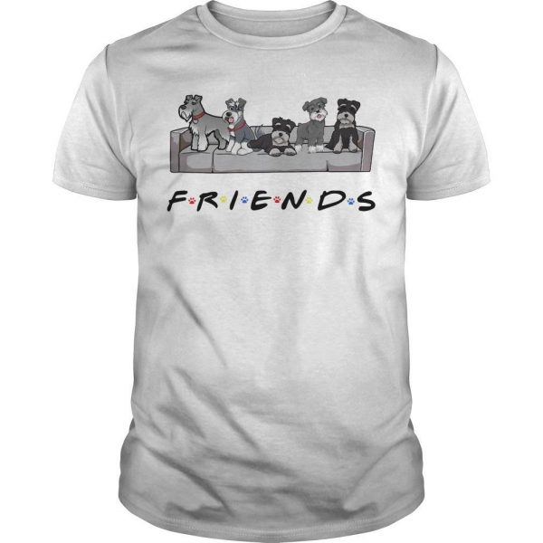 Miniature Schnauzer Tv Show Friends Shirt