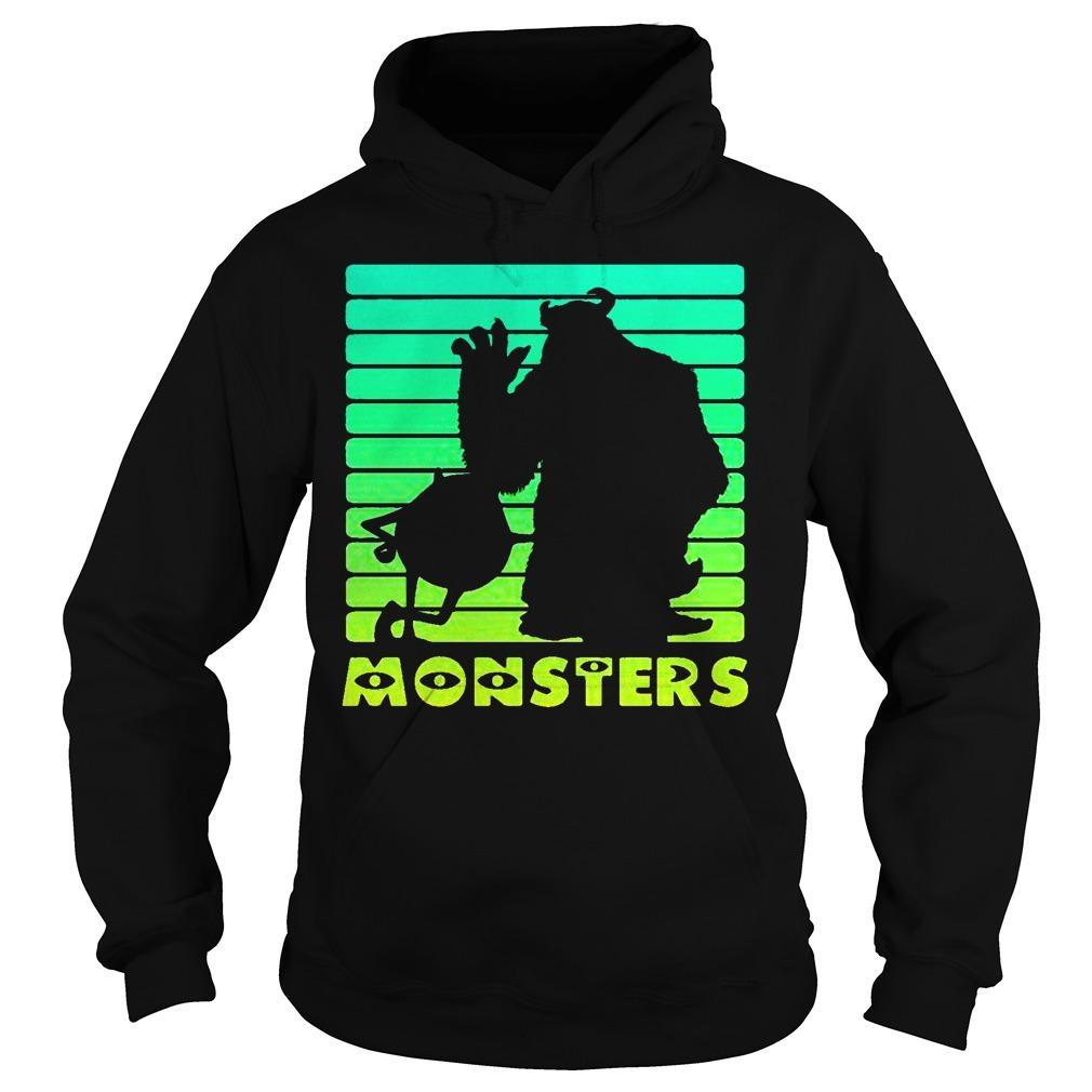 Monsters Sulley And Mike Wazowski Hoodie