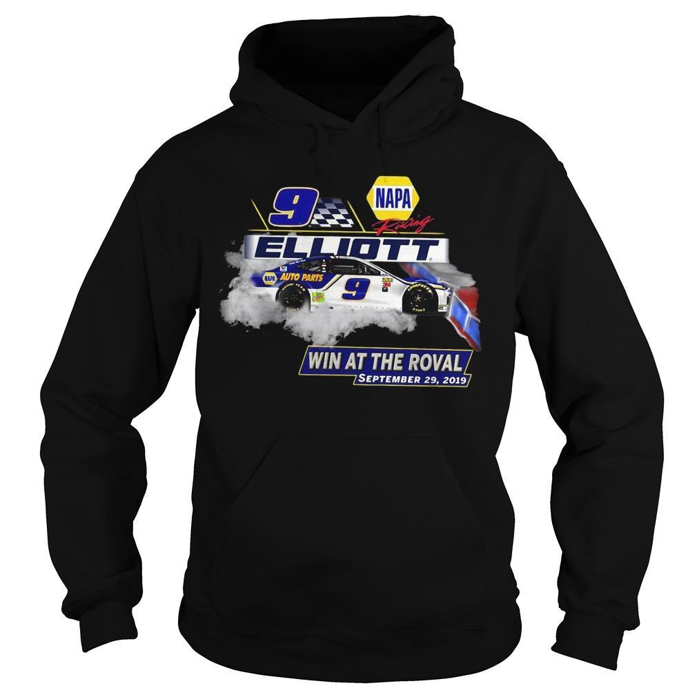 Napa Chase Elliott No 9 Win At The Roval September 29 2019 Hoodie