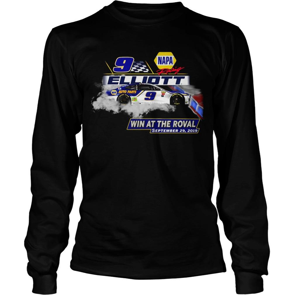Napa Racing Elliott Win At The Roval September 29 2019 Longsleeve