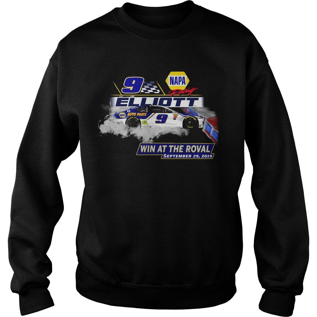 Napa Racing Elliott Win At The Roval September 29 2019 Sweater