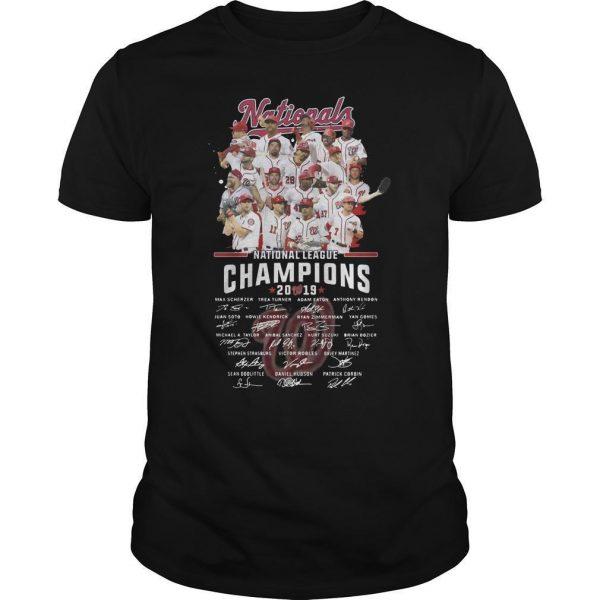 National League Champions 2019 Signatures Shirt