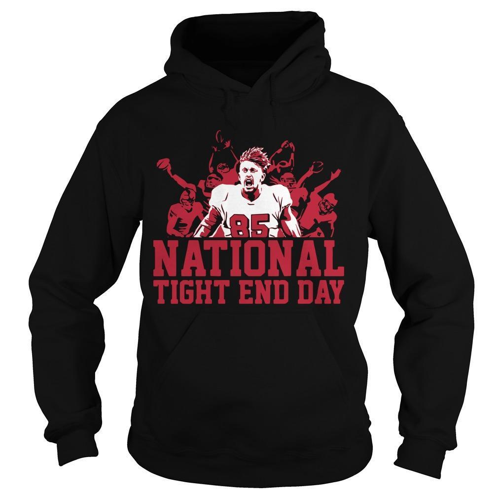 National Tight End Day Hoodie