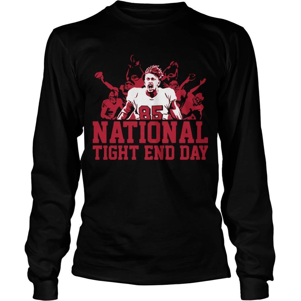 National Tight End Day Longsleeve