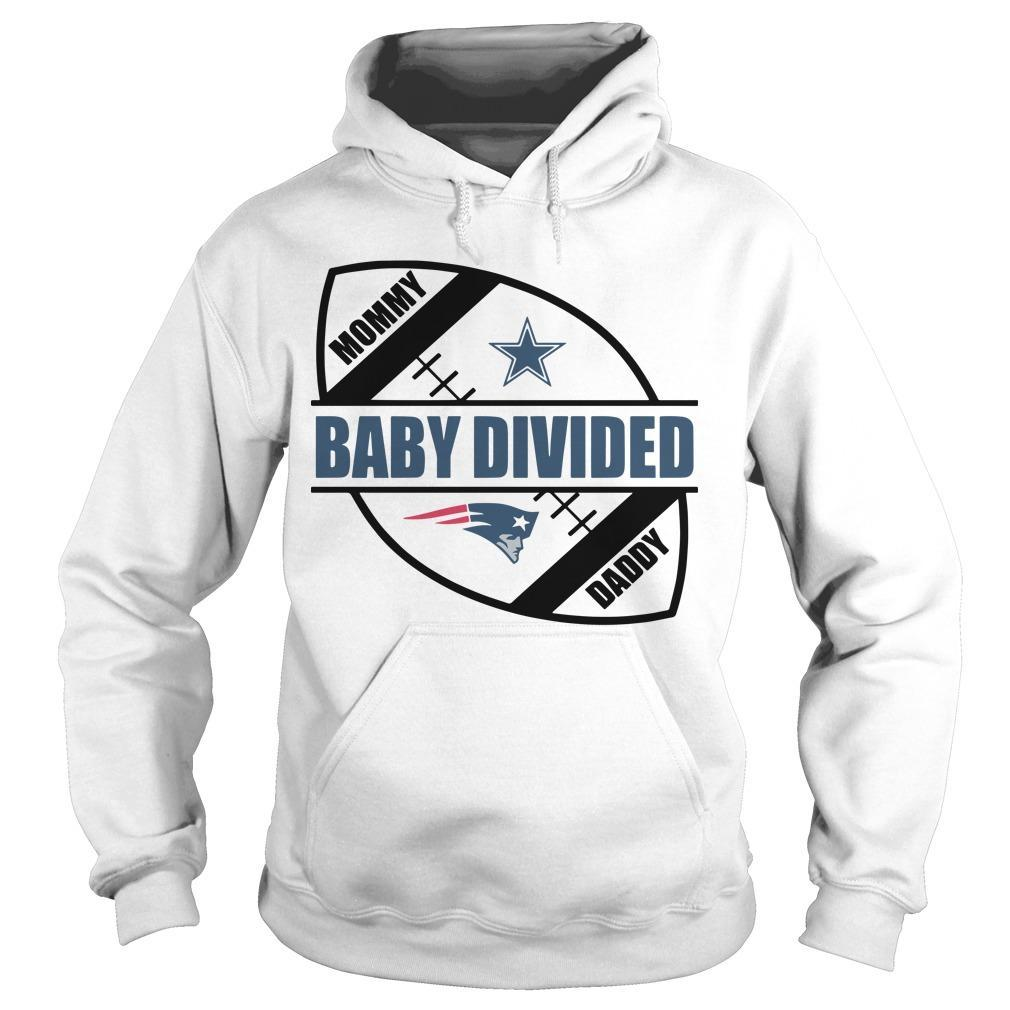 New England Patriots Baby Divided Hoodie