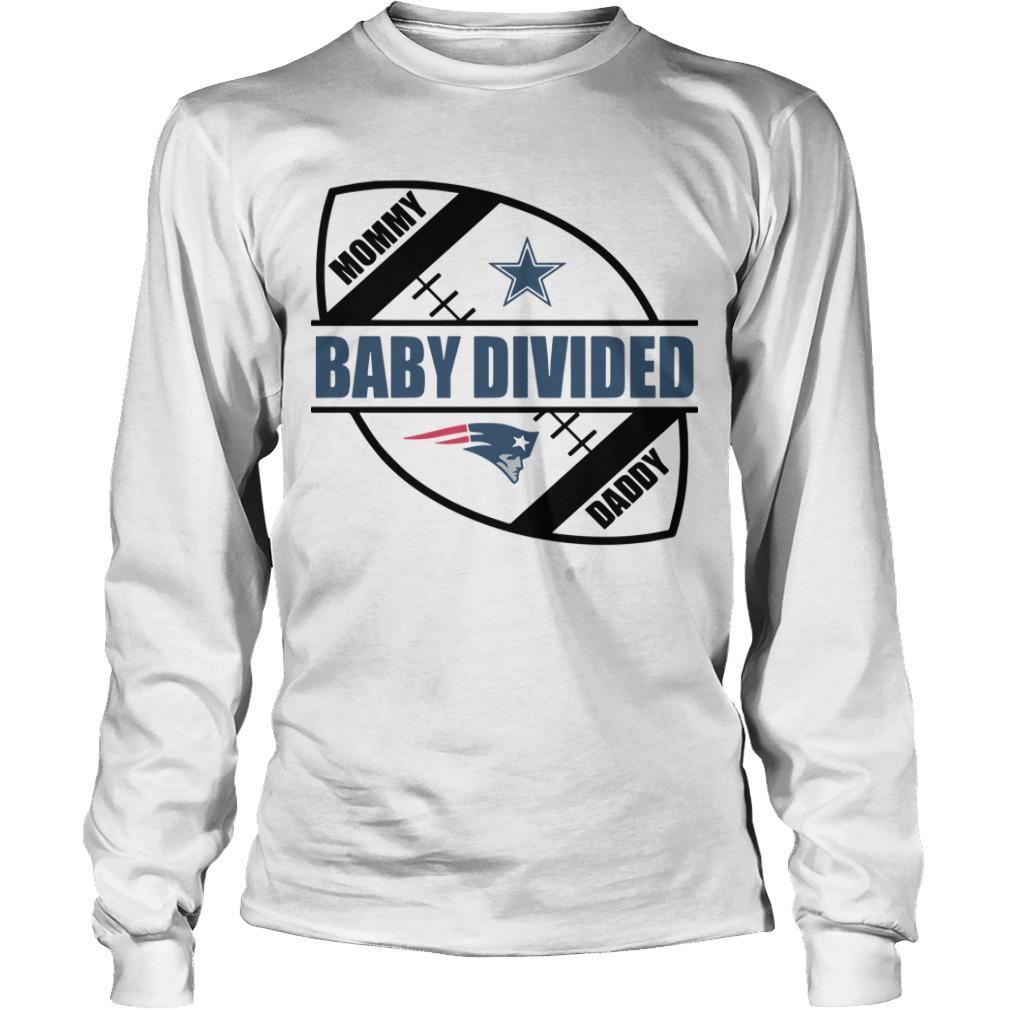 New England Patriots Baby Divided Longsleeve