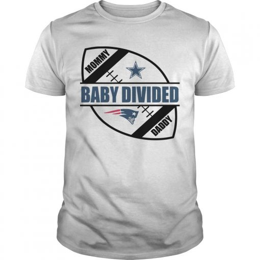 New England Patriots Baby Divided Shirt