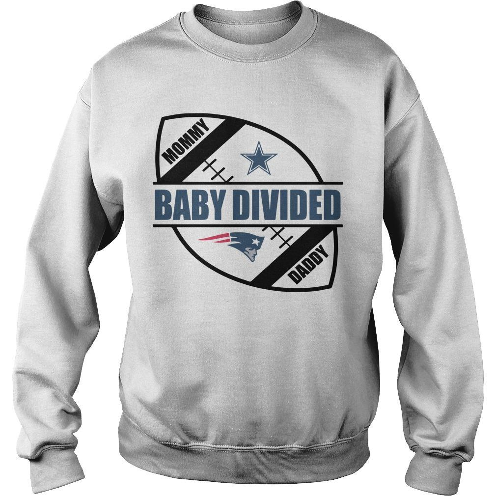 New England Patriots Baby Divided Sweater