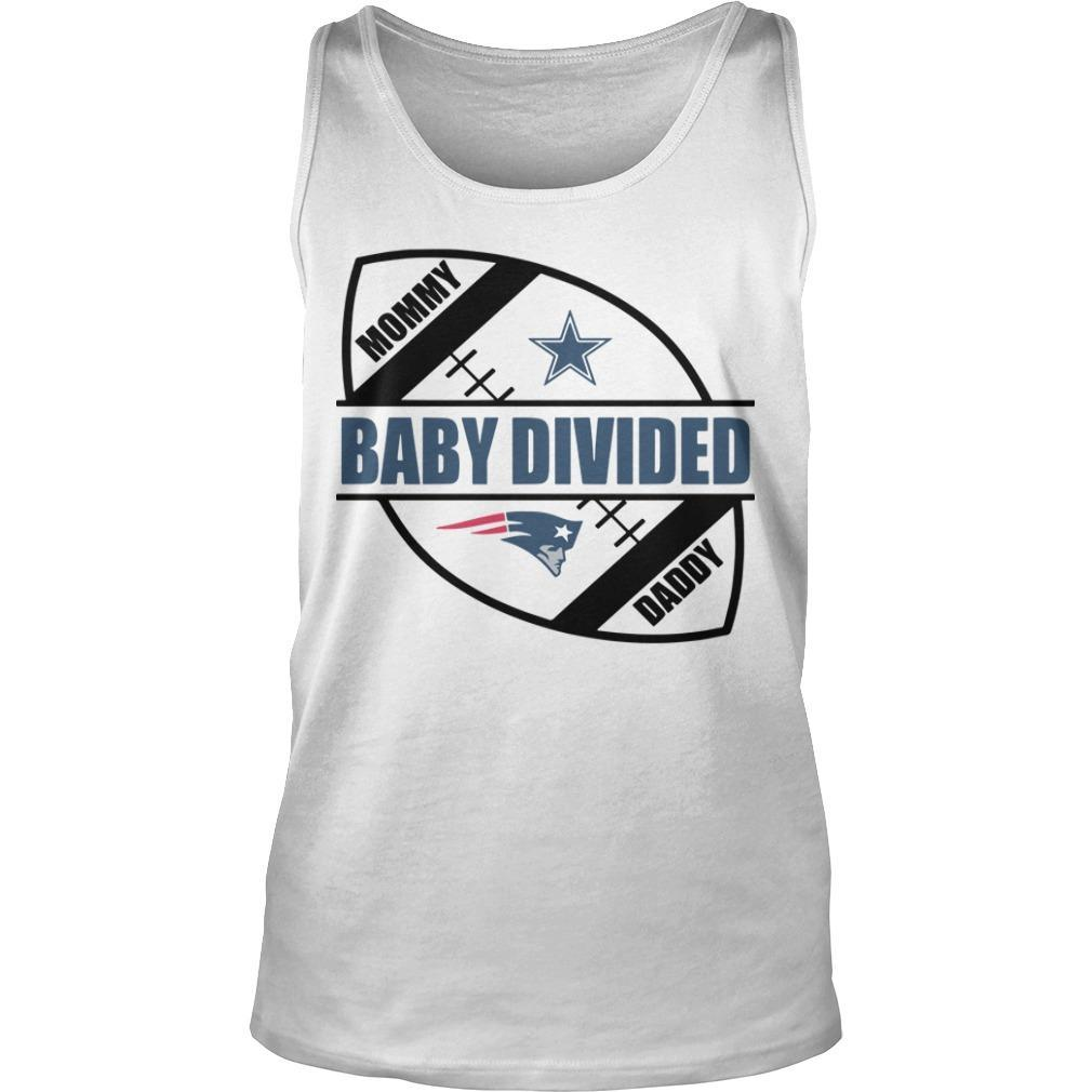 New England Patriots Baby Divided Tank Top