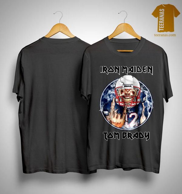 New England Patriots Iron Maiden Tom Brady Shirt