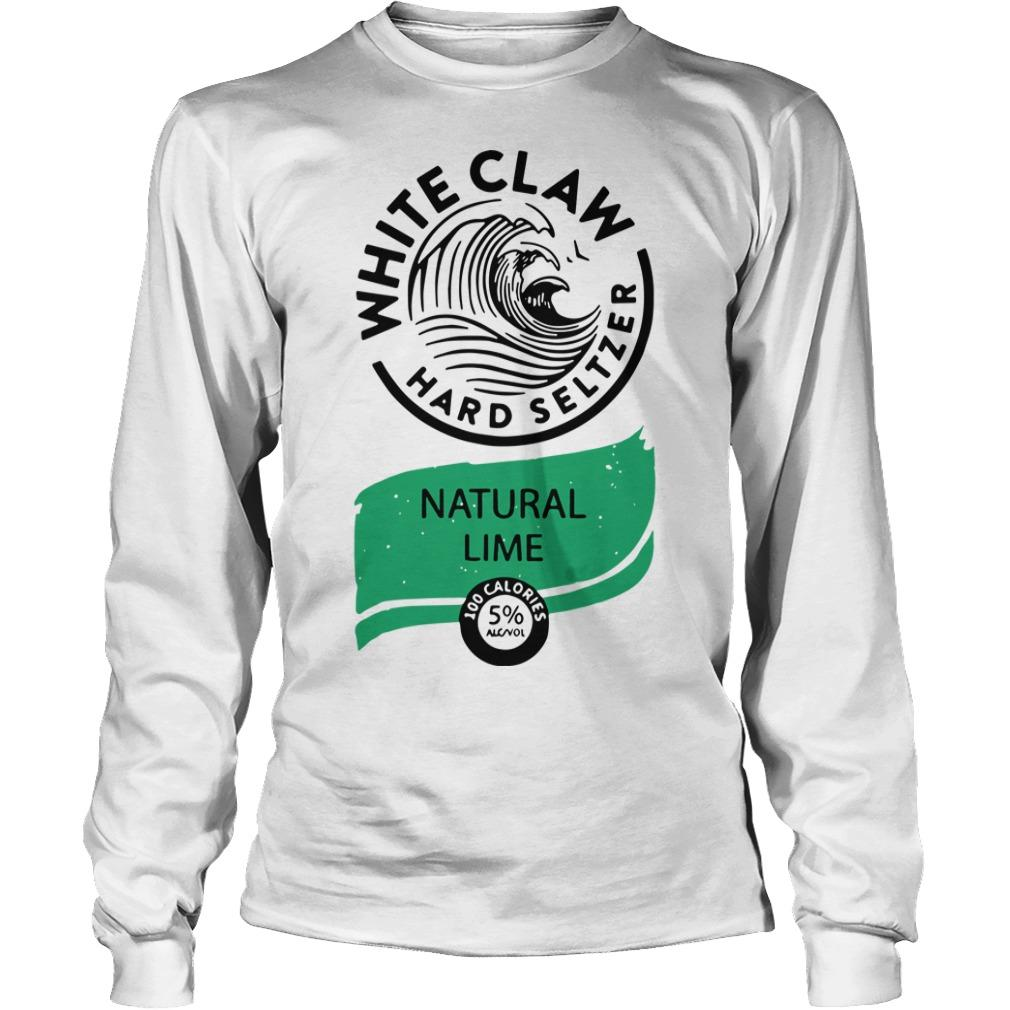 Nice White Claw Hard Seltzer Natural Lime Longsleeve