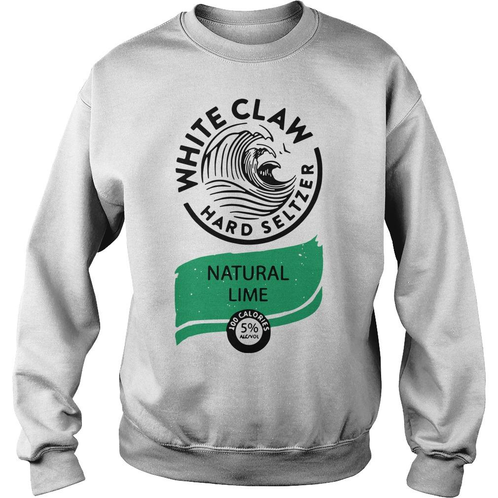 Nice White Claw Hard Seltzer Natural Lime Sweater