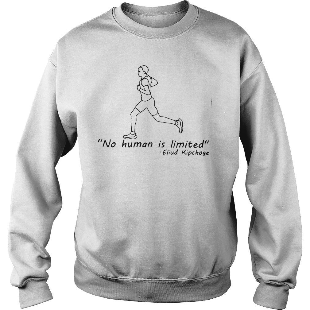 No Human Is Limited T Sweater