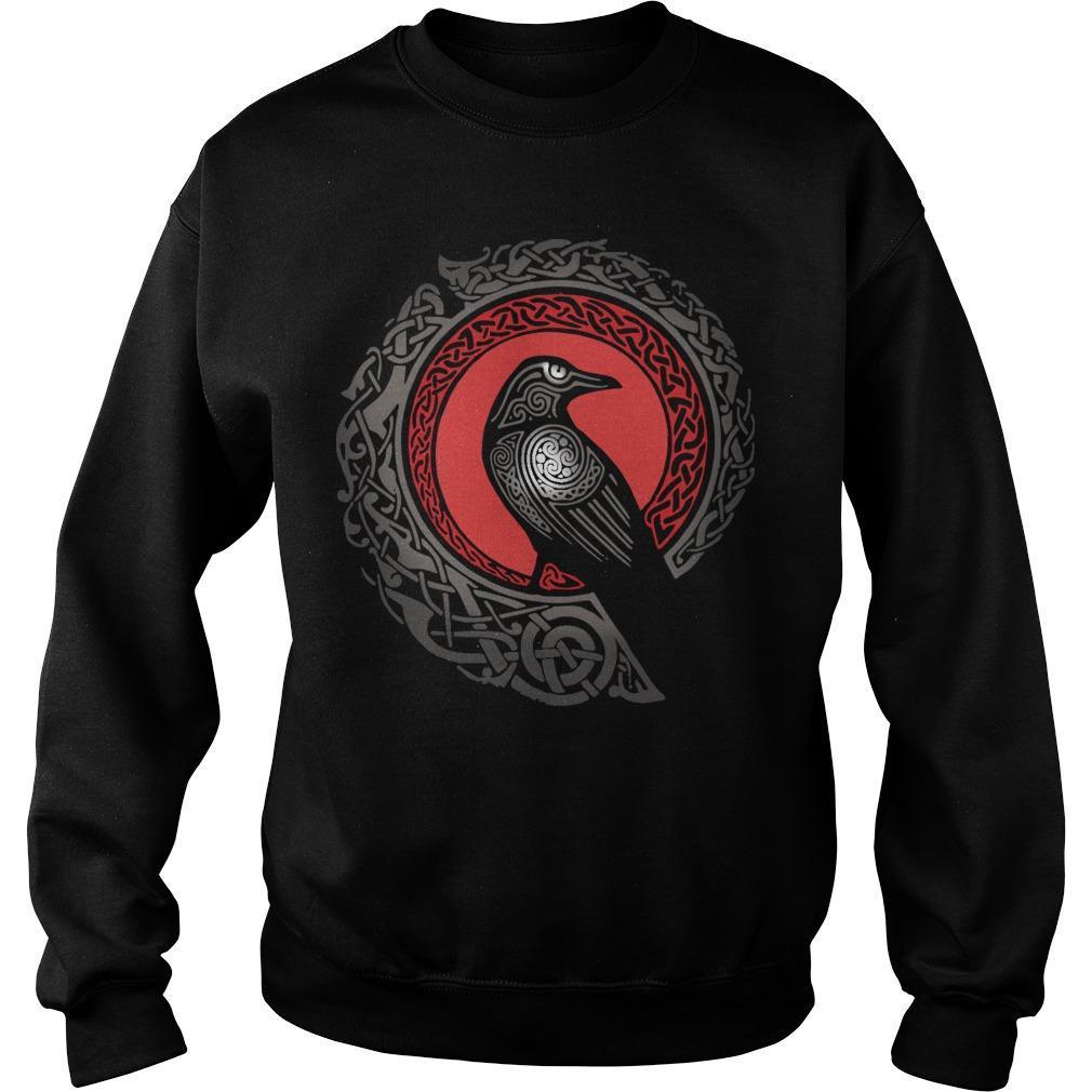 Norse Mythology Raven Sweater