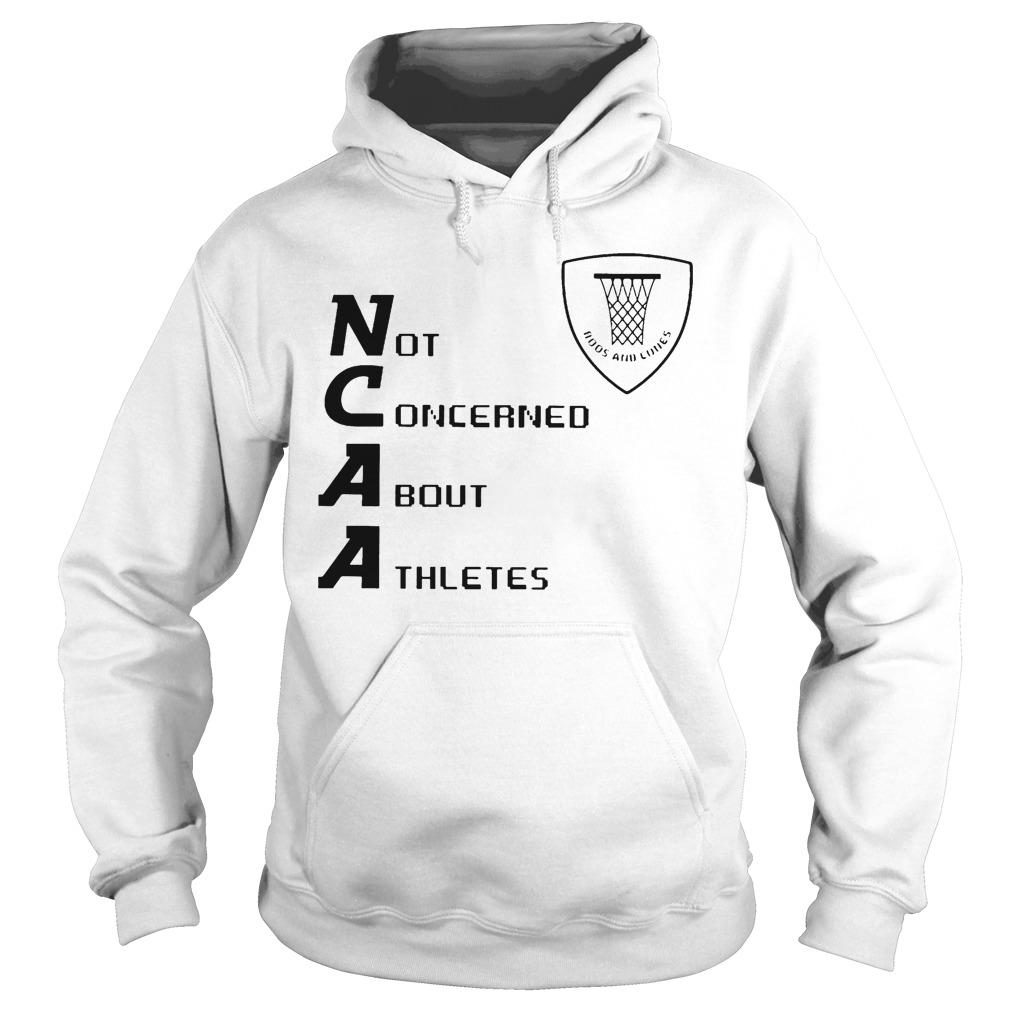 Not Concerned About Athletes Hoodie