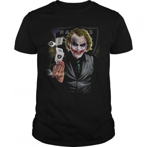 Oakland Raiders Poker Joker Shirt