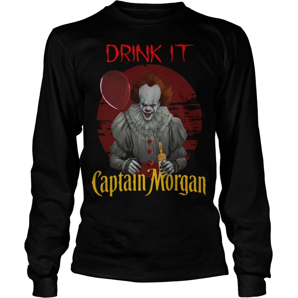 Pennywise Drink IT Captain Morgan Longsleeve
